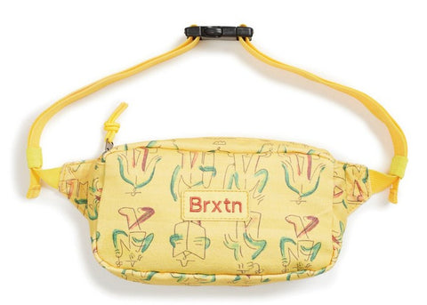 Brixton Gate Hip Pack Yellow