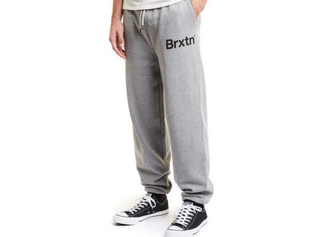 Brixton Gate Sweatpant Heather Grey
