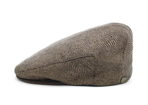 Brixton Hooligan Snap Cap Brown Khaki
