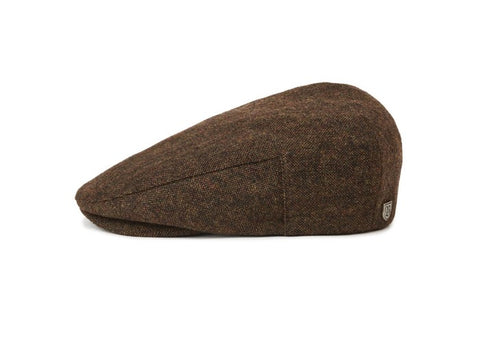 Brixton Hooligan Snap Cap Dark Brown
