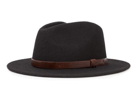Brixton Messer Fedora Black