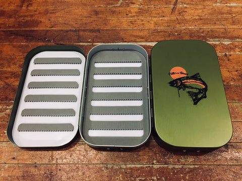 Cutts and Bows Sunbow Fly Box Green