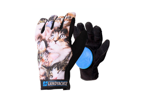 Landyachtz Cat Pattern Gloves