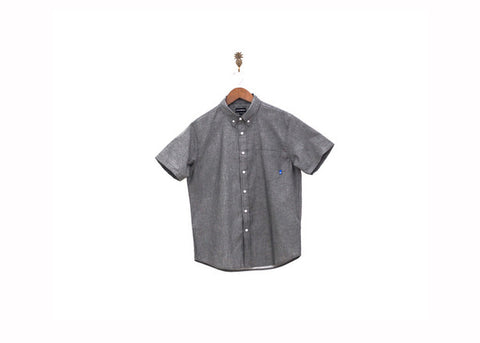 Ekumenik S\S Chambray Black Shirt