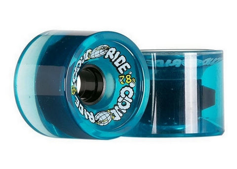 Cloud Ride Cruisers 78a 69mm Clear Blue