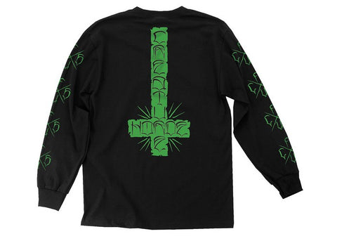 Creature Horde Cross LS Black
