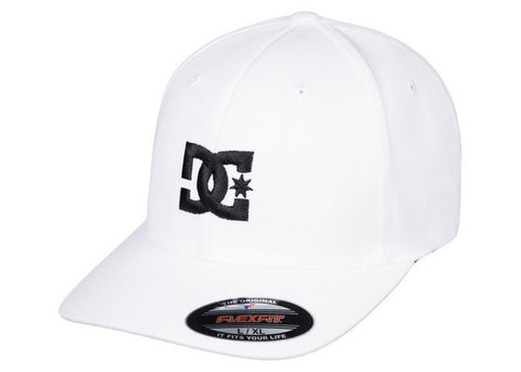 DC Star 2 Flexfit White/Black