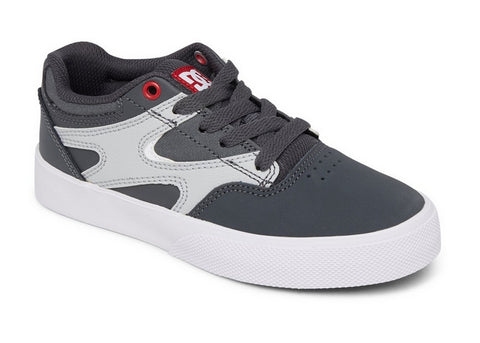 DC Boys Kalis Vulc Grey/Grey/Red