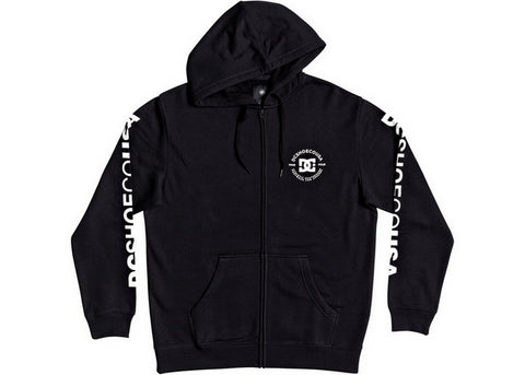 DC Star Pilot Zip-Up Hood Black