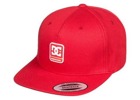 DC Snapdragger Boys Snapback Cap Racing Red