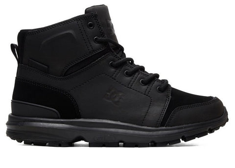 DC Torstein Leather Boots Black/Black/Black