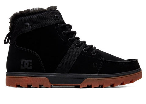 DC Woodland Sherpa-Lined Boots Black/Gum