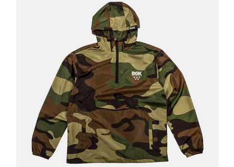 DGK Deployment Windbreaker Jacket Camo