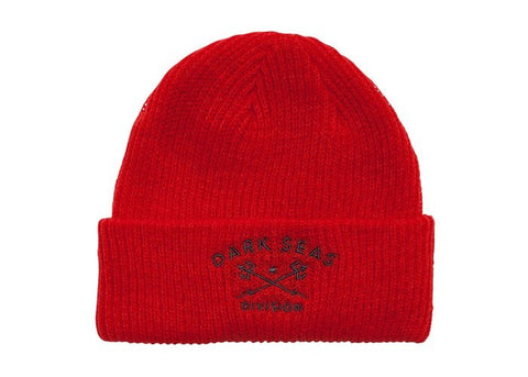 Dark Seas Cruiser Beanie Red