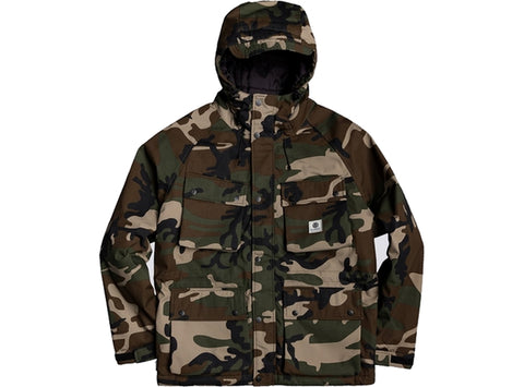 Element Mountain Parka Jacket Camo
