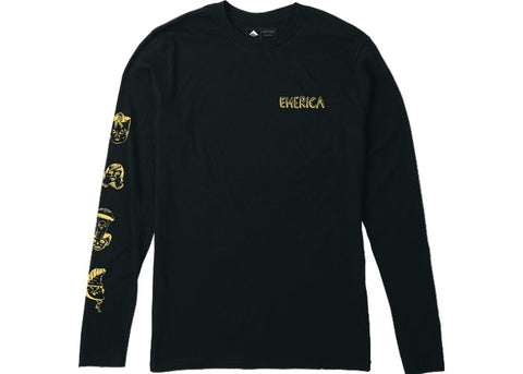 Emerica Faces L/S Black