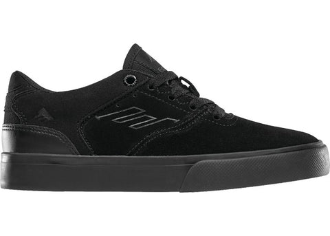Emerica Youth The Reynolds Low Vulc Black/Black/Black