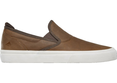 Emerica Wino G6 Slip-On Jon Dickson Brown