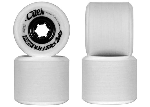 Cuei Free Killers Power Thane 73mm 75a White & Grey Stoneground