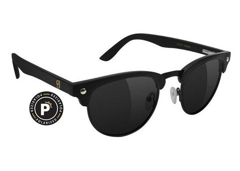 Glassy Morrison Premium Matte Black Polarized