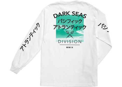 Dark Seas Global L/S White