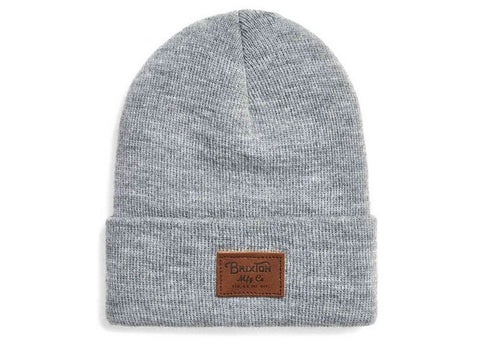 Brixton Grade II Beanie Light Heather Grey