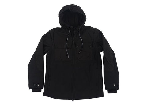 Manteau I Found Quilted DWR Zip Up Black