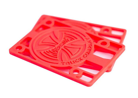 Riser Pads Independent 1/8 Red or White or Black