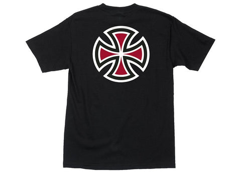 Independent Bar/Cross T-Shirt Black
