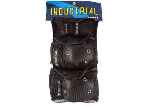 Industrial Pad Set Black/Black