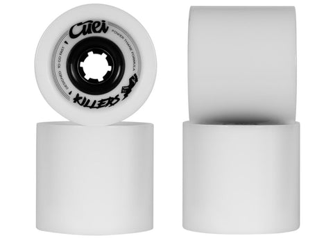 Cuei Killers DH Power Thane 74mm 75a White & Grey