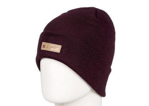 DC Label 2 Beanie Wine