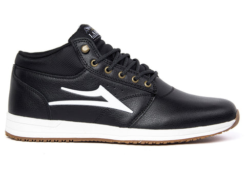 Lakai Griffin Mid Black Leather