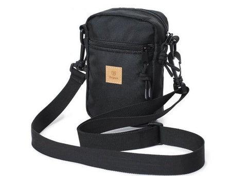 Brixton Main Label Hip Pack Black