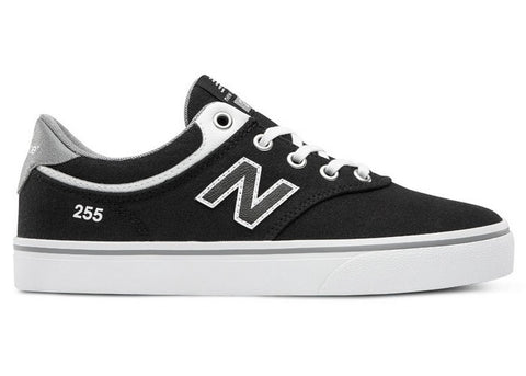 New Balance Kids 255 Black/White