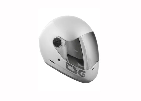 Casque TSG The Pass Solid Silver