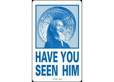 Powell Peralta Have You Seen Him Sticker