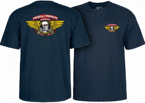 Powell Peralta Winged Ripper Navy