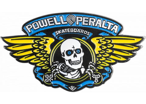 Powell Peralta Winged Ripper Blue Pin