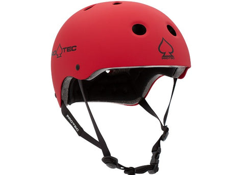 Casque Pro-Tec Classic Certified Matte Red