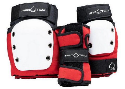 Pro-Tec Street 3-Pack Junior Red/White/Black