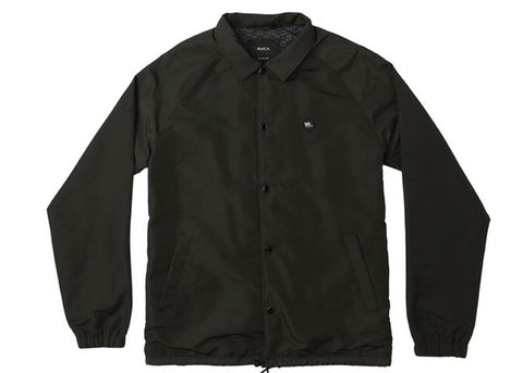 RVCA ATW II Coaches Jacket Black