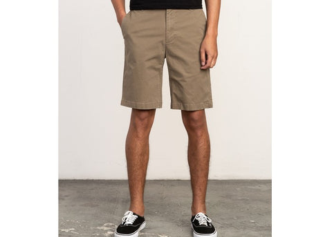 RVCA Daggers Chino Shorts Wood