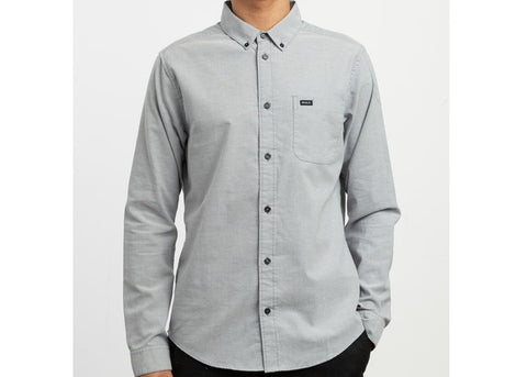 RVCA Thatll Do Stretch Pavement L/S Shirt