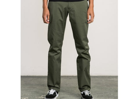 RVCA The Weekend Stretch Pant Olive