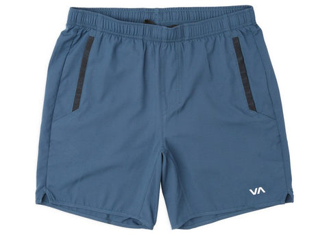 RVCA Boys Yogger III 15'' Short Surplus Blue