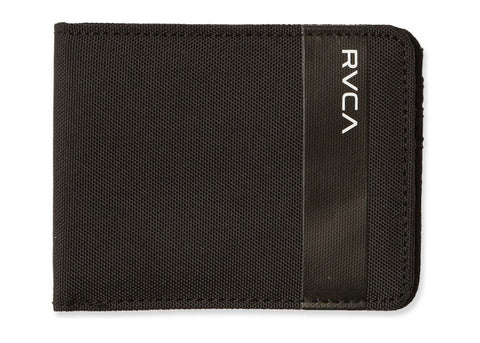 RVCA Wallet Leeward Bifold Black