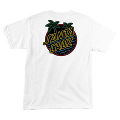 Santa Cruz T-shirt Glow Dot White