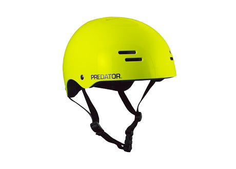 Casque Predator SK8 Soft Hybrid Shell Gloss Fluoro Yellow