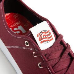 State X Politic Harlem Black Cherry Canvas/Suede
